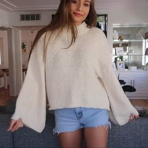 Top shop knitted sweater!